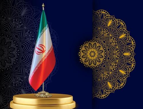 پرچم تشریفات لمینت چاپ دیجیتال