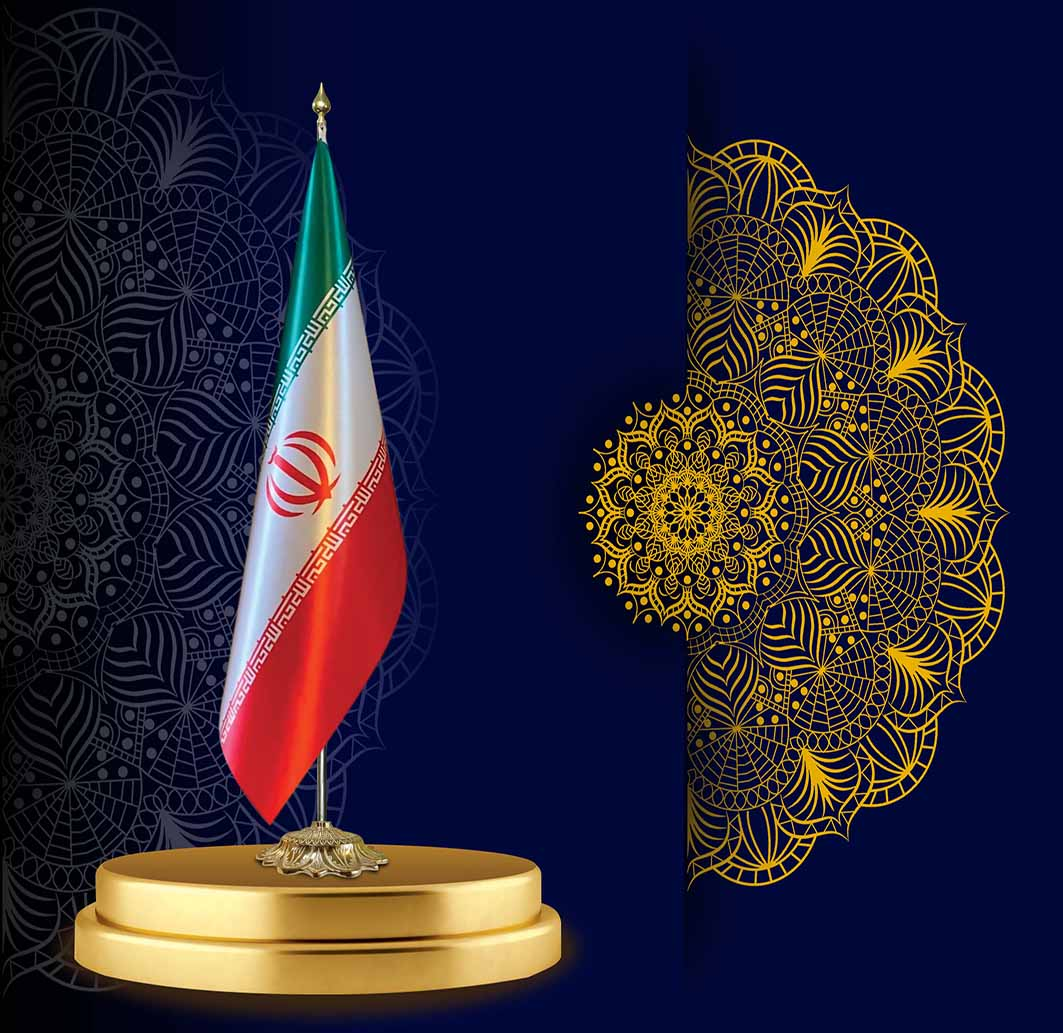 پرچم تشریفات لمینت ایران