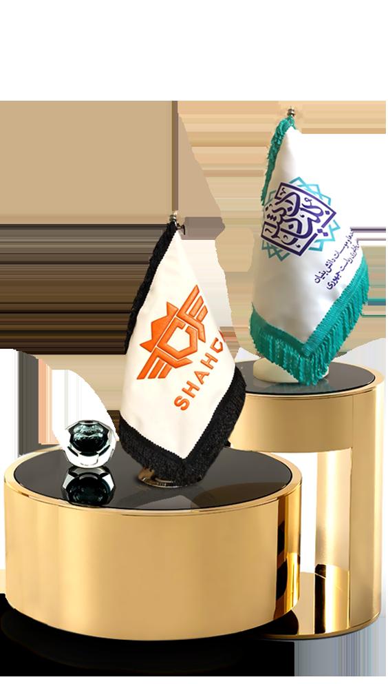 پرچم رومیزی - پرچم رومیزی دیجیتال